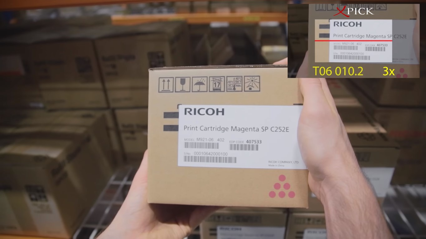 augmented reality for logistics sector