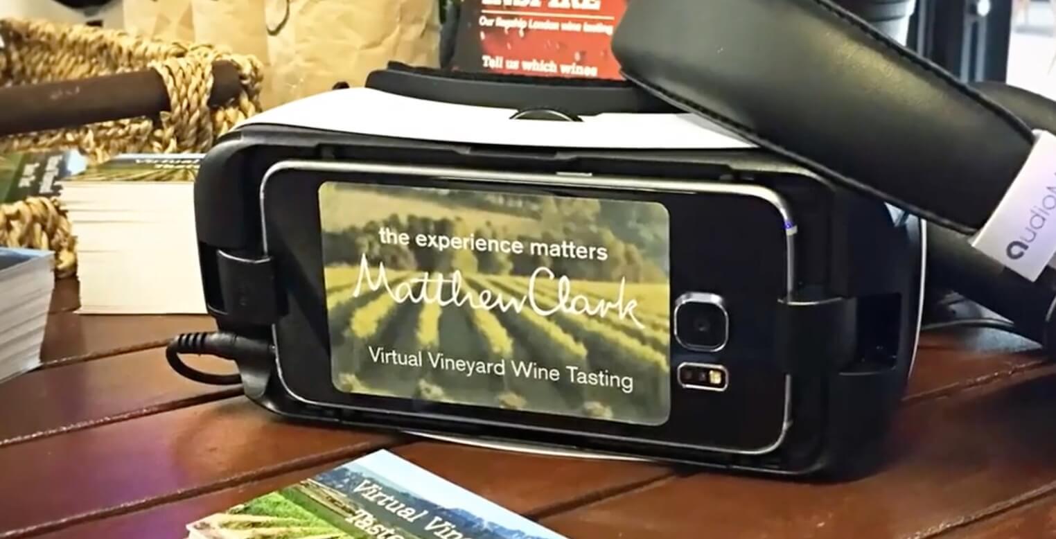 VR vineyard