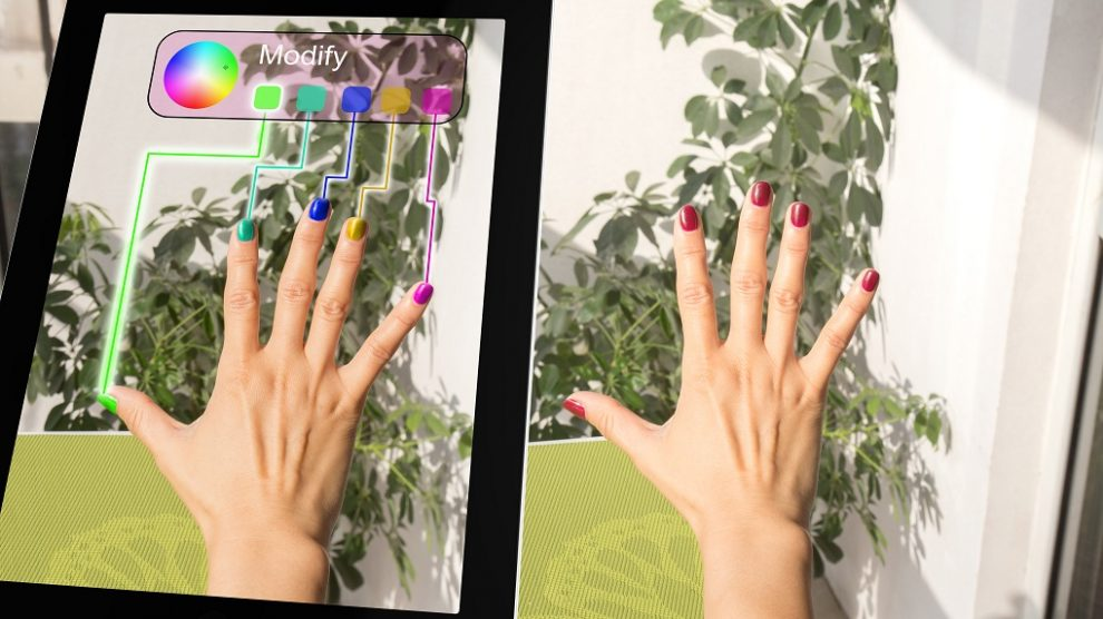 augmented-reality beauty industry