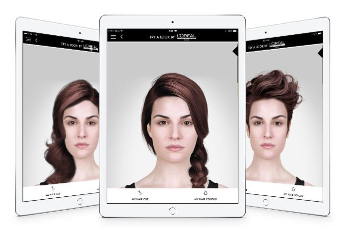 app to try hairstyles