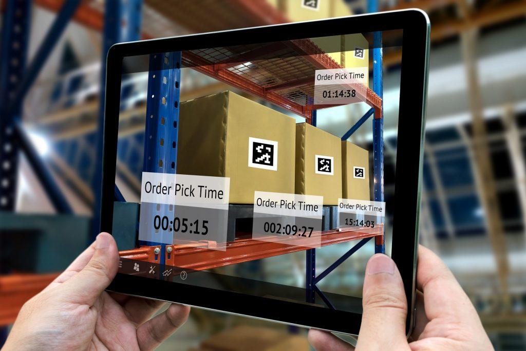 ar app in logistics