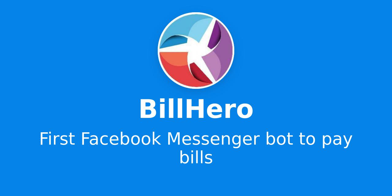 interactive chat bot billhero