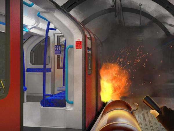 vr emergency training simulator