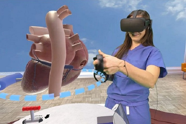 vr trainng for medical students