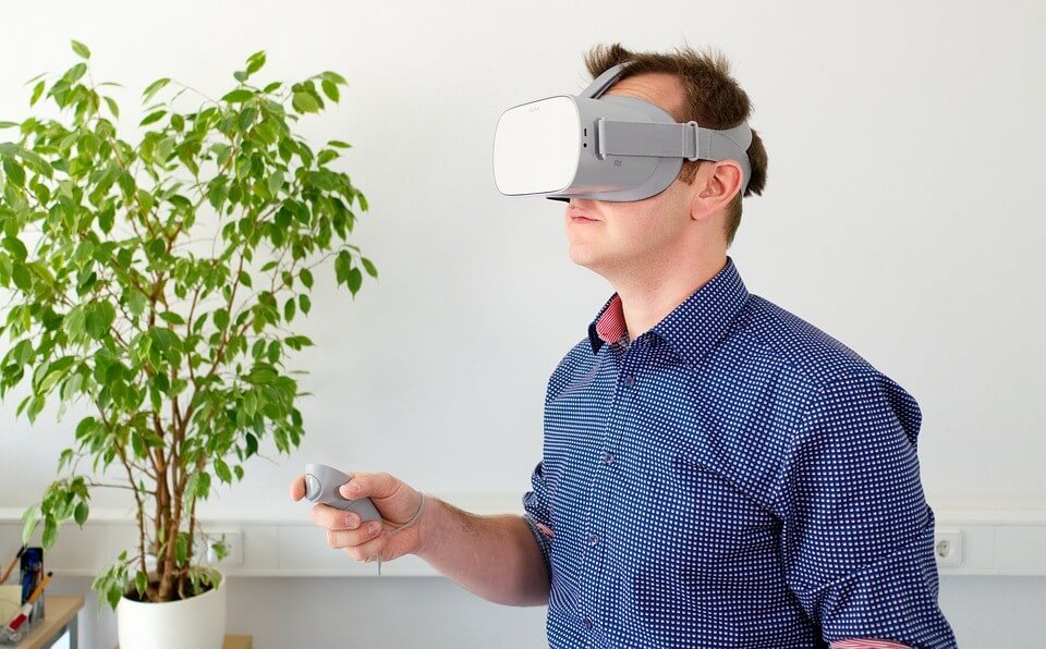 Virtual reality application