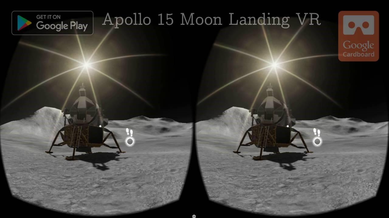 virtual reality applications apollo 15