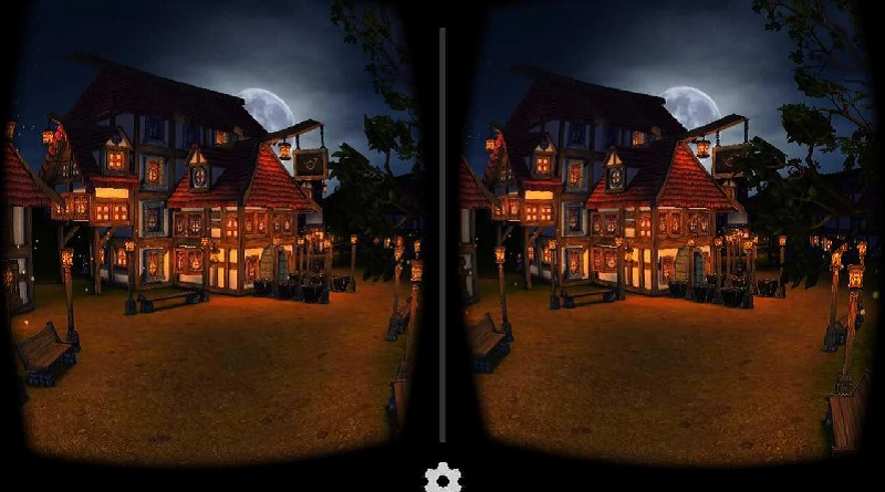 virtual reality applications cartoon