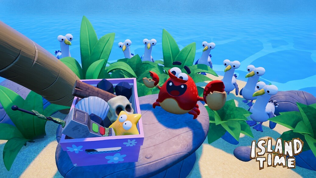 virtual reality applications island