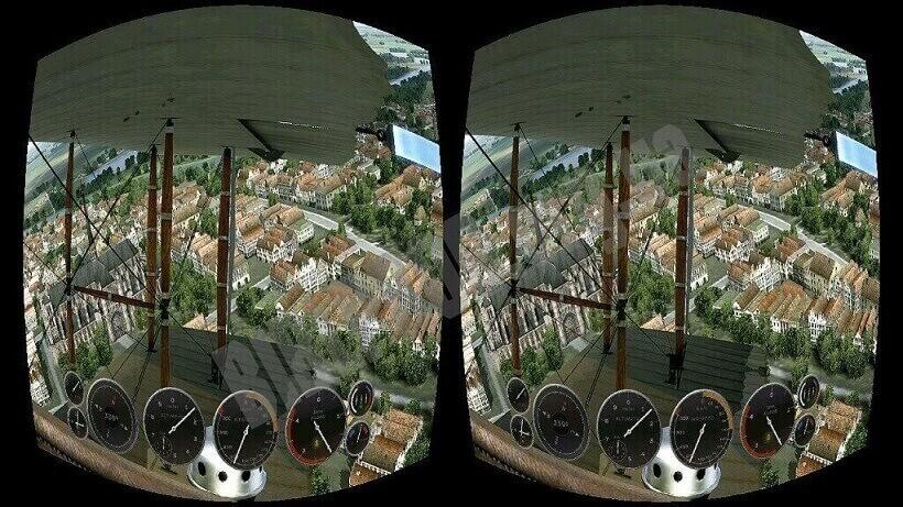 virtual reality applications trinus