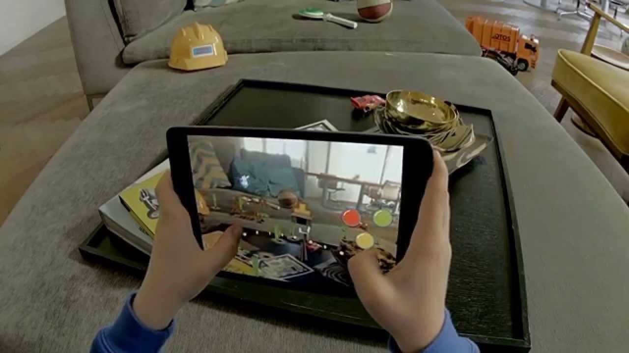AR games like Pokemon Go