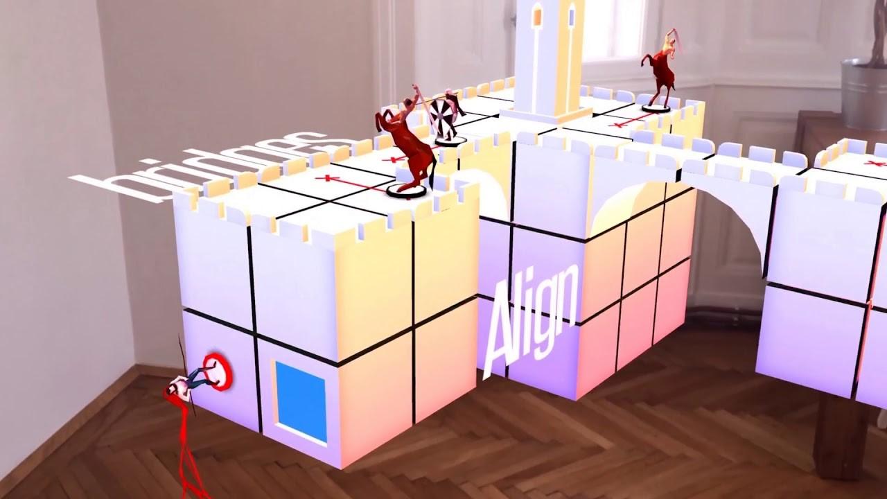 AR games Euclidean Lands