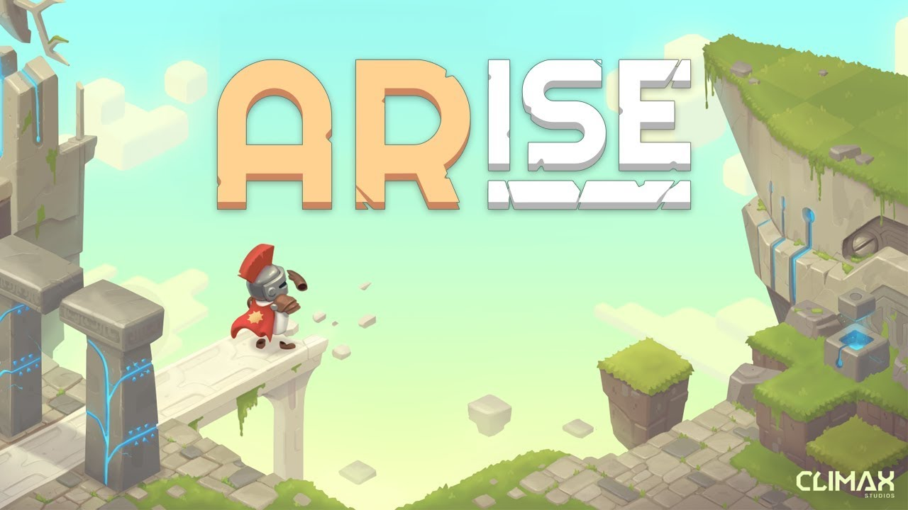 Iphone AR mobile game arise
