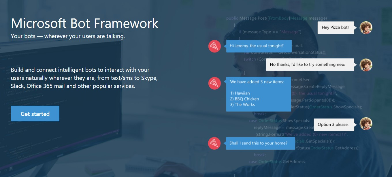 microsoft bot framework screenshot