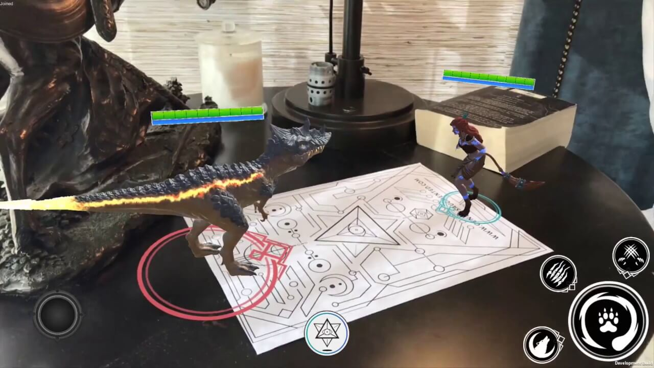 android AR games Genesis