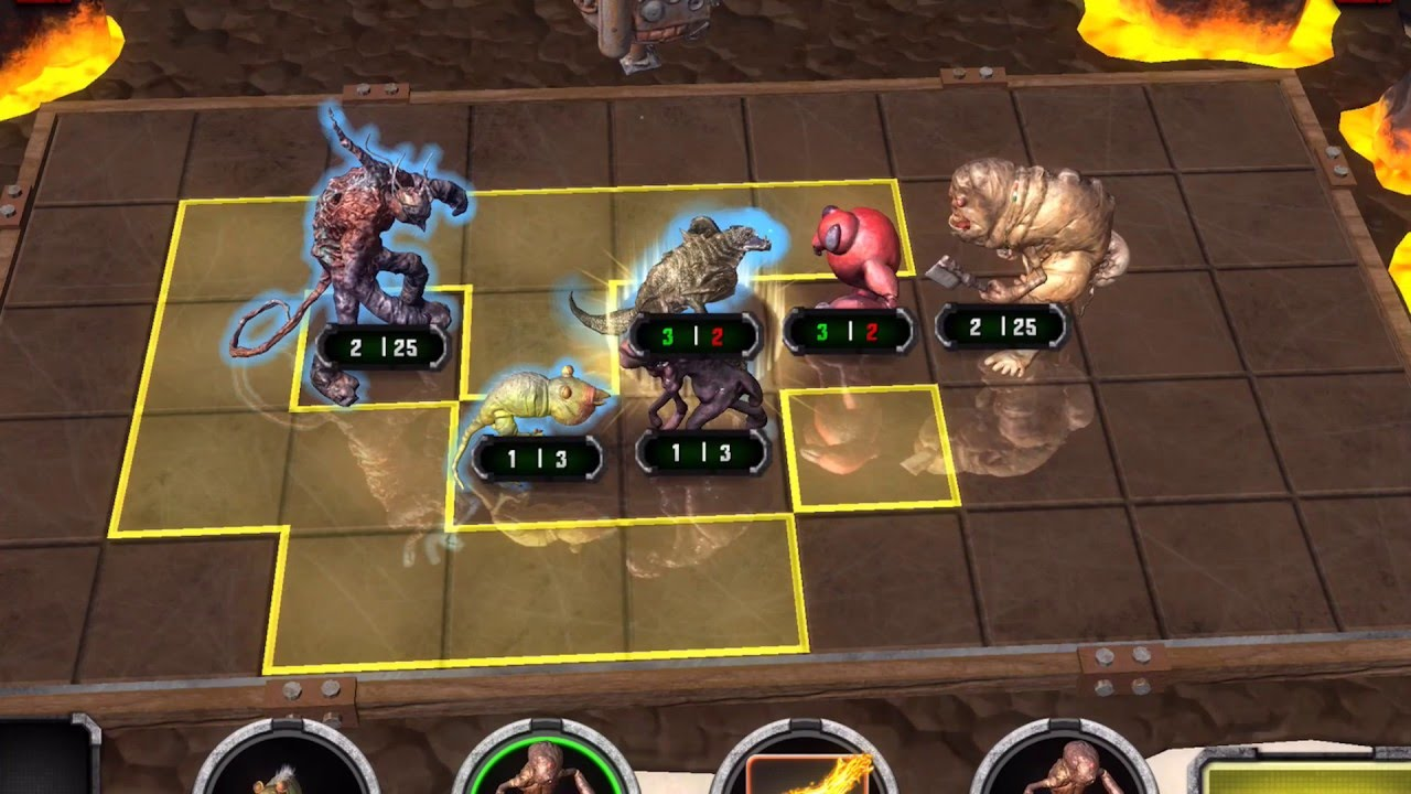 android augmented reality game HoloGrid Monster Battle