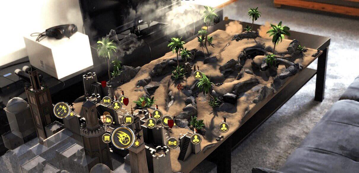 ar games for smartphones Knightfall