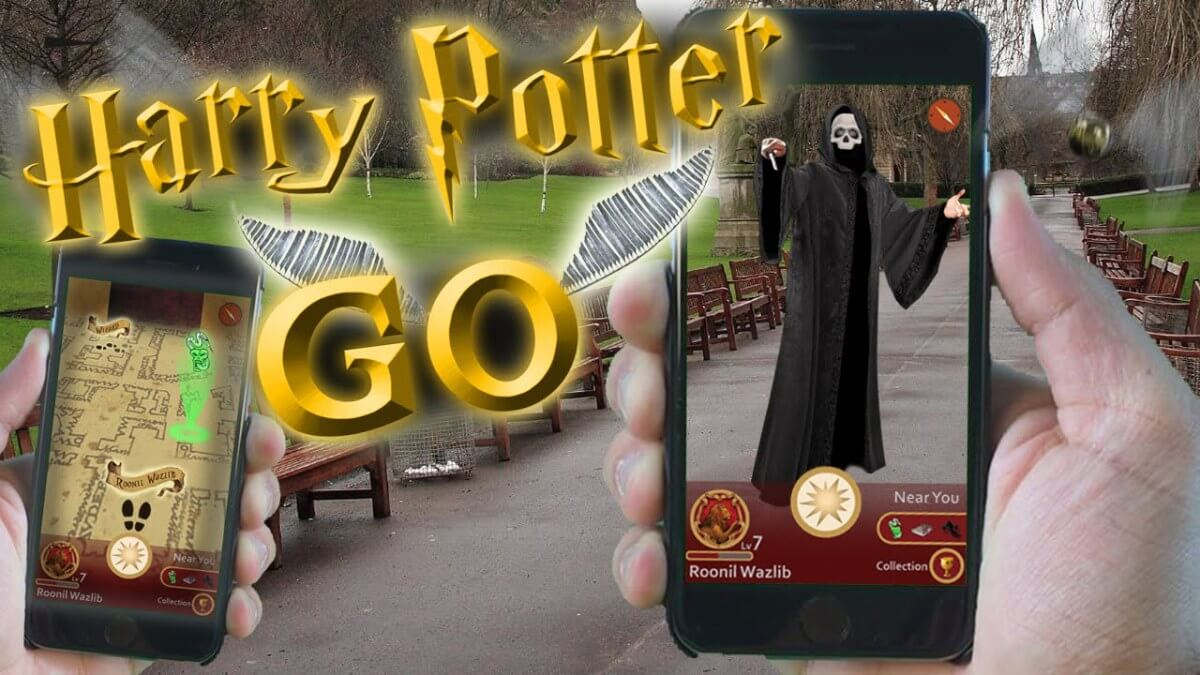 augmented reality harry potter