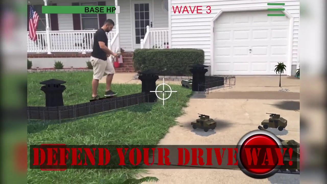 augmented reality Drone Commander Lite