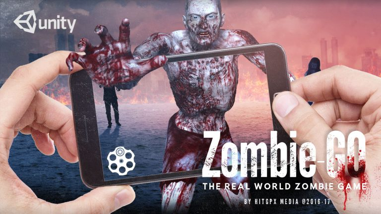 augmented reality app development zombie