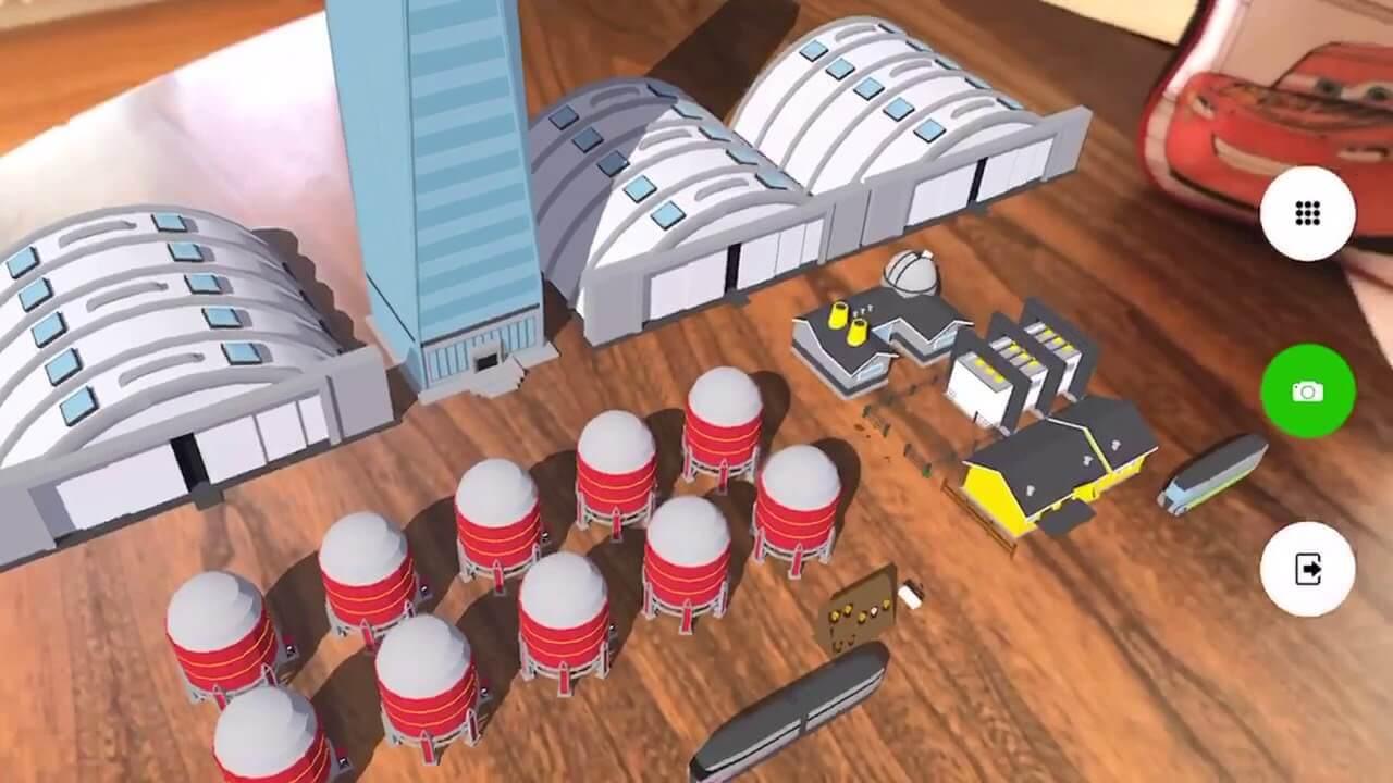 augmented reality development egg
