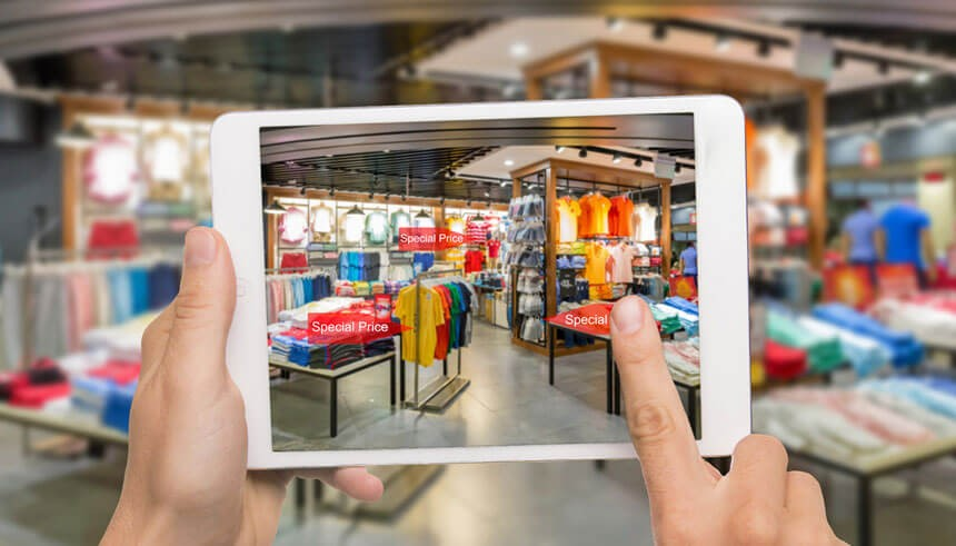 augmented reality development in retail