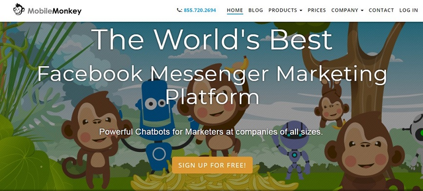 chatbot platform mobilemonkey