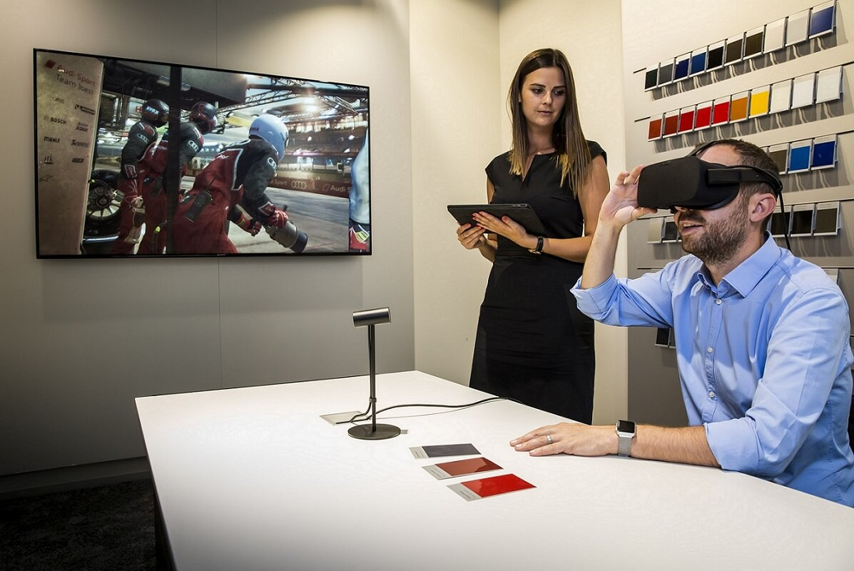 virtual reality app development for automotive