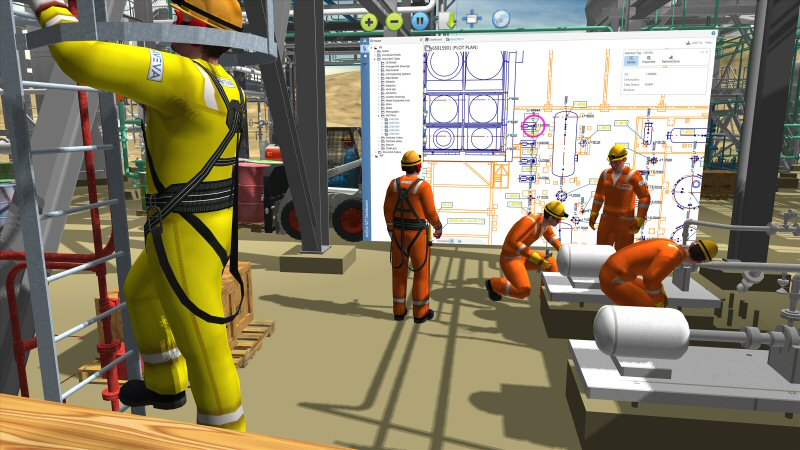 training in vr for oil and gas industry