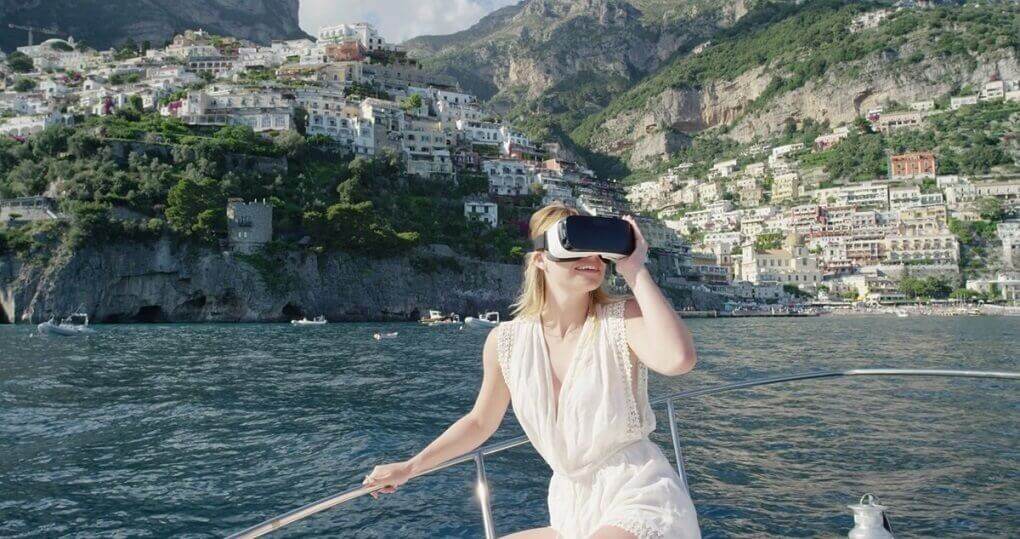 virtual reality app for tourism