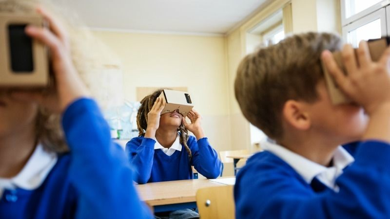 vr education in classrooms