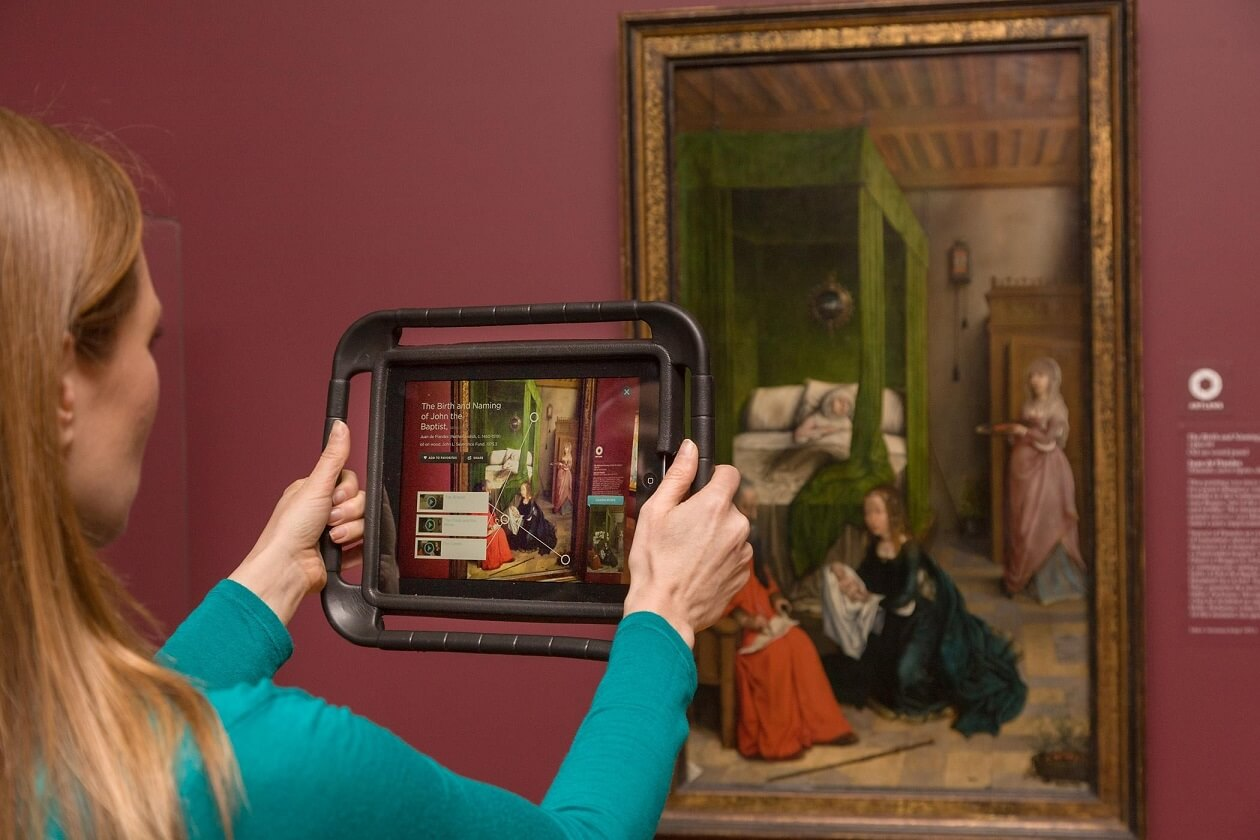augmented reality application museum
