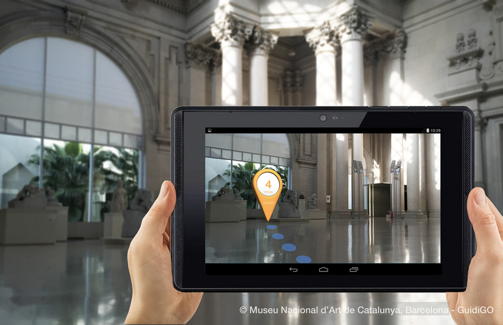 use agmented reality in museums