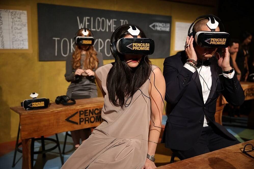 virtual reality charity
