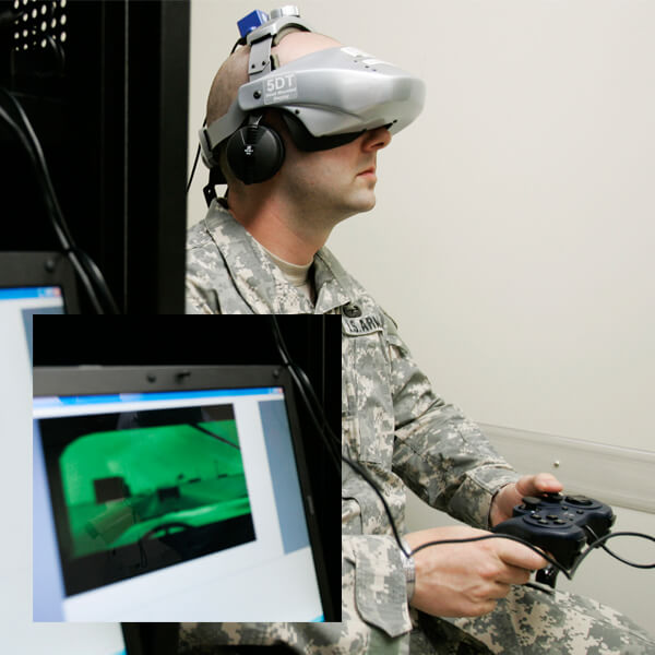 PTSD treatment VR apps