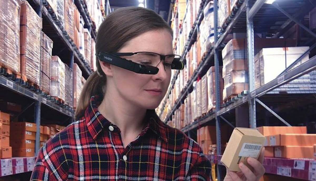 augmented reality in warehouse