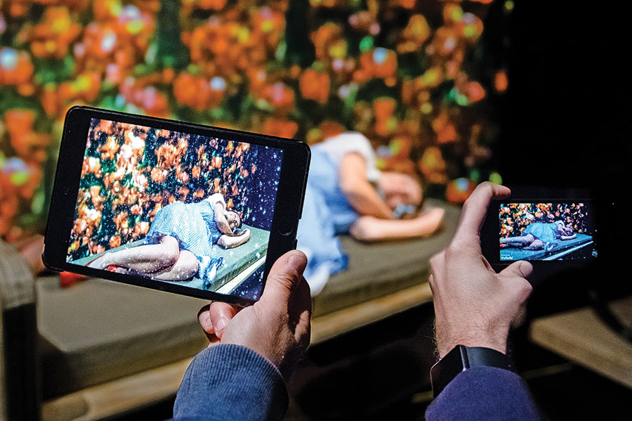 augmented reality theatre