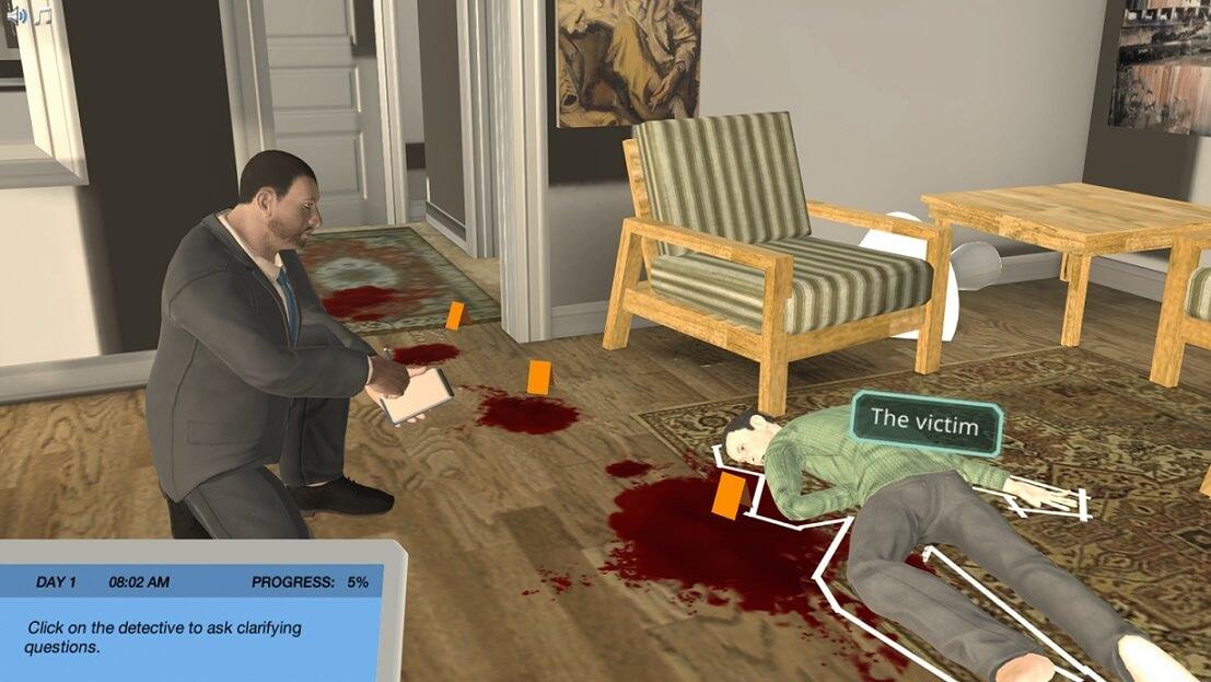 virtual reality technology detective