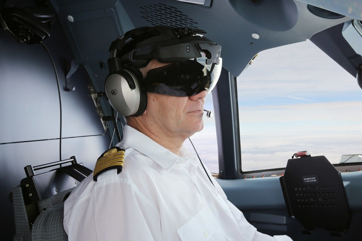 ar glasses in aviation