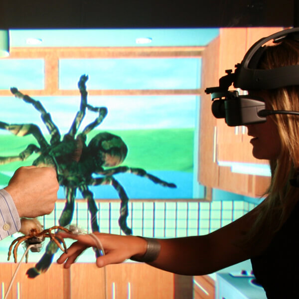 vr app to overcome a phobia