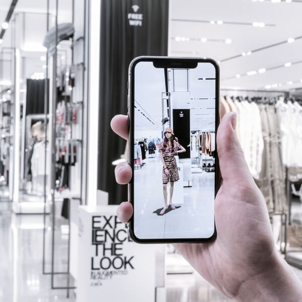 AR apps for fashion stores