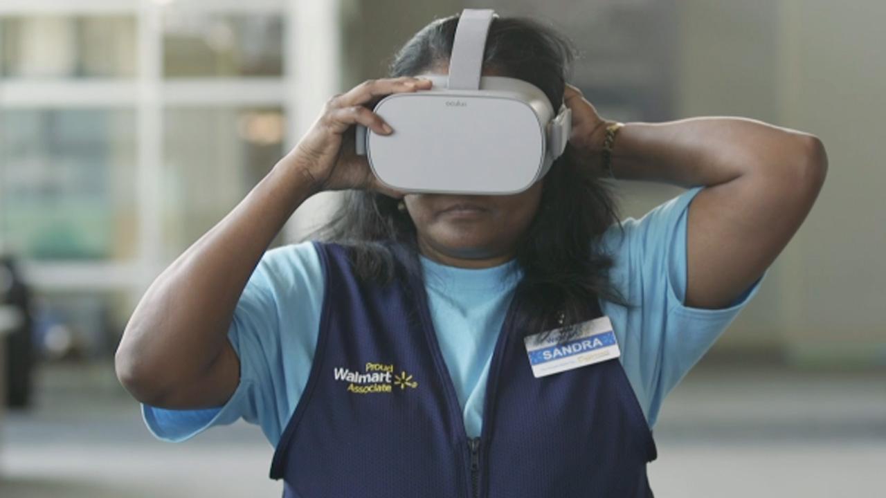 virtual reality training walmart
