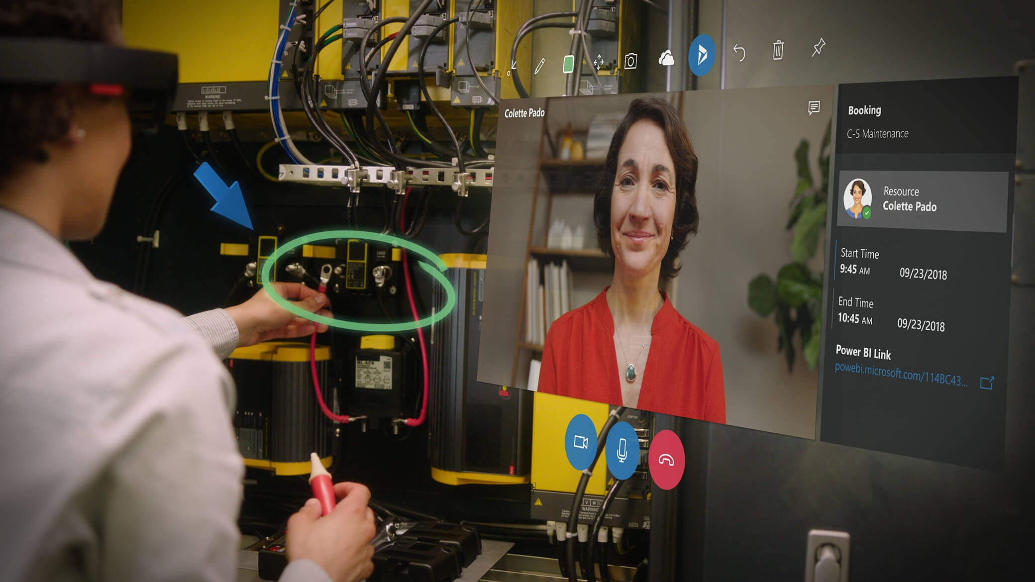 augmented reality in telecommunication