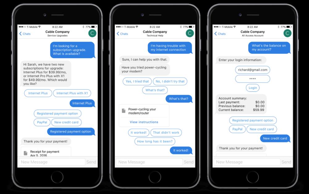 chatbot telecom
