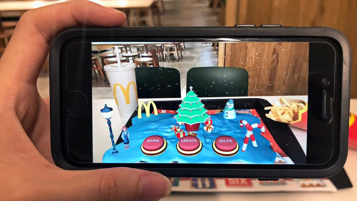 Augmented-reality-for packaging