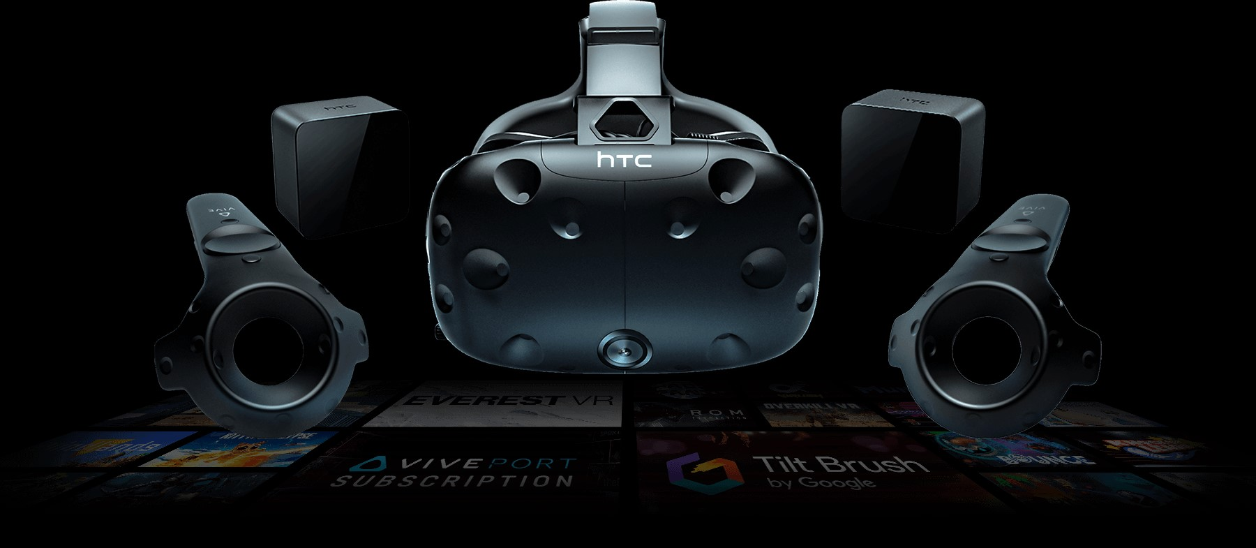 content vive virtual reality system