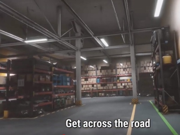 content vr training warehouse safety