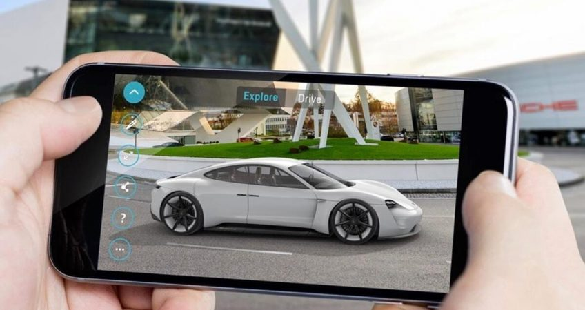 AR technologies in automotive