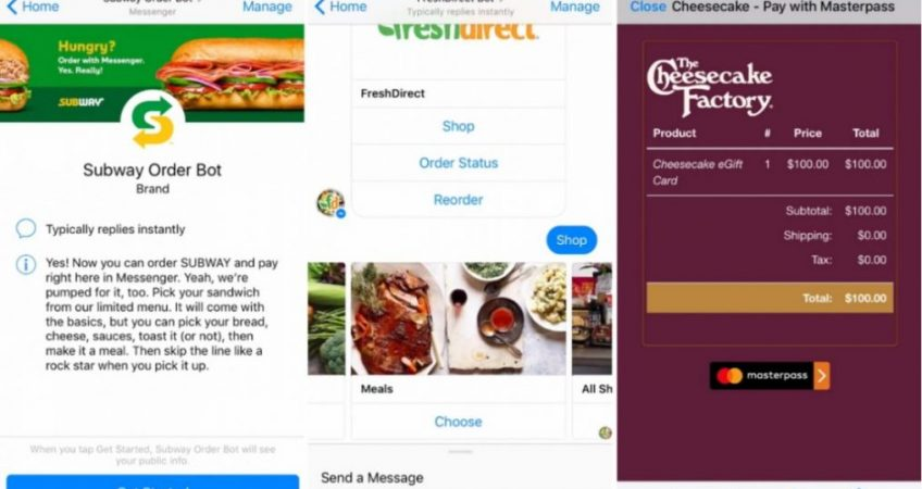 Subway FreshDirect Cheesecak Chatbot