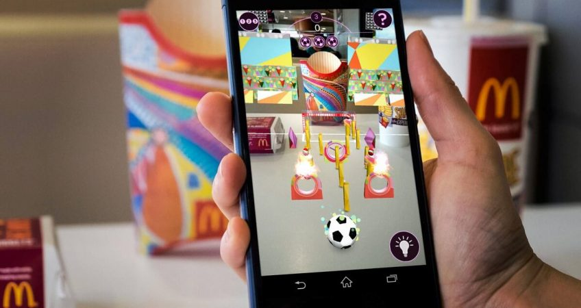 augmented reality for advertising