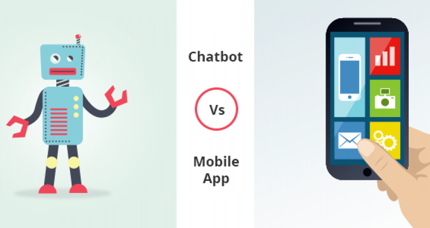 Chatbot vs Mobile app
